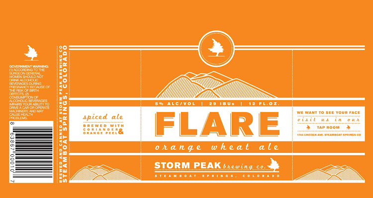 Logo of Storm Peak Flare Orange Wheat
