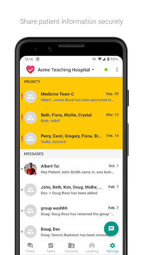 Hypercare - Secure Healthcare Collaboration screenshot 1