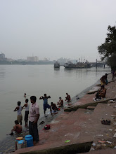 Photo: Kolkata, Hugli (Mündungsarm des Ganges)
