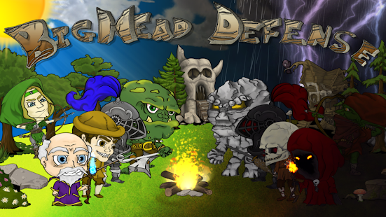 BigHead Defense- screenshot thumbnail