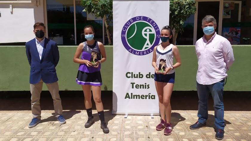 Finalistas de la categoría absoluta femenina.