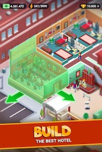 Hotel Empire Tycoon MOD APK 1.7.4 (Unlimited Money) 5