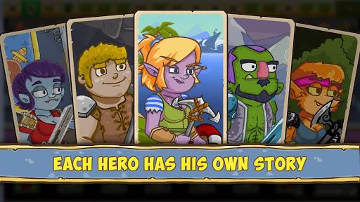 Let's Journey - idle clicker RPG - offline game filehippodl screenshot 1