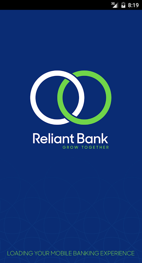 Reliant Bank- screenshot