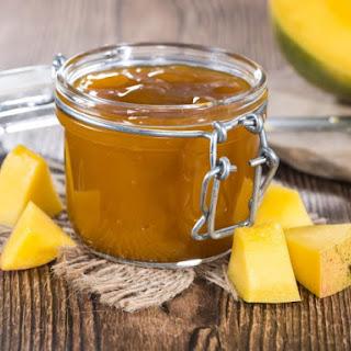 Sweet Mango Lime Jam.