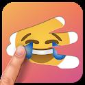 Scratch Emoji Quiz. Logo Guess