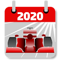 Racing Calendar 2020 (No Ads) icon