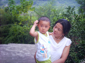 Photo: me and my aunt
