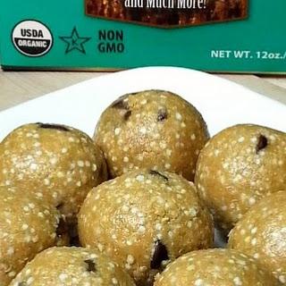 Peanut Butter Quinoa Protein Balls