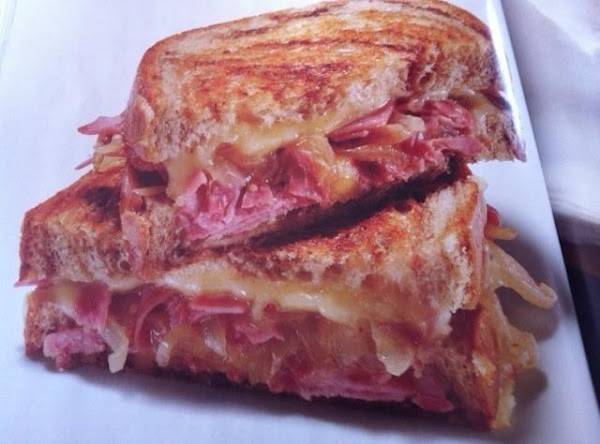 Corned Beef Grilled Cheese Sandwich Recipe