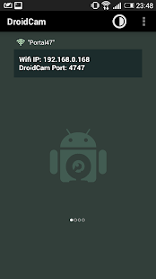 DroidCam Wireless Webcam: miniatura de captura de pantalla