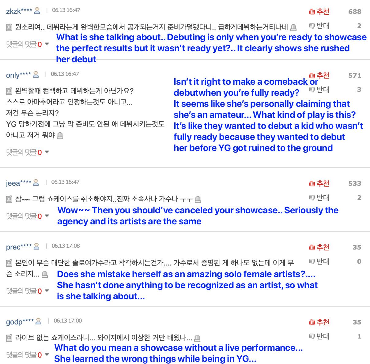somi netizens showcase live