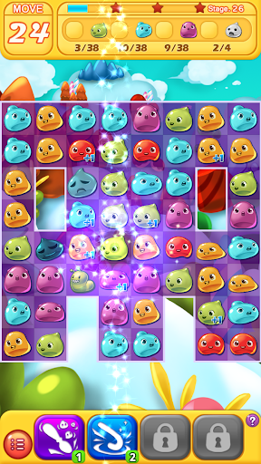 Jelly Jelly Crush - In the sky screenshots 6