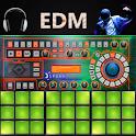 EDM Maker Electro drumpads 24 DJ mixer icon