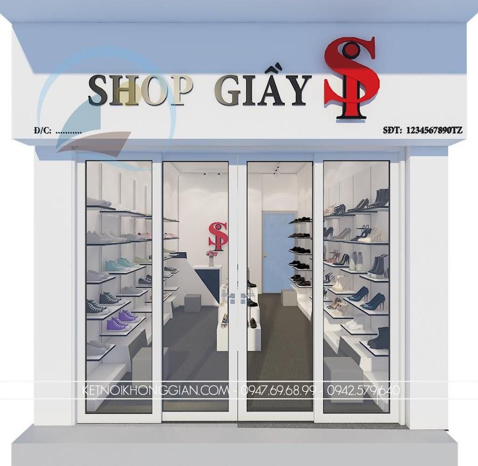 thiết kế shop giày dép Si 1