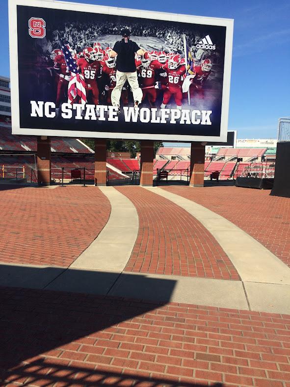 NCSU football stadium.