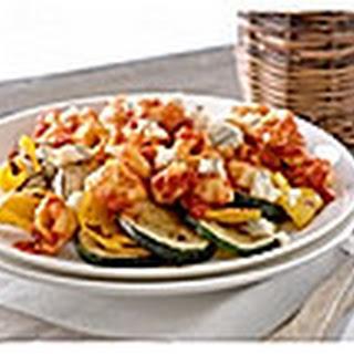 Tortellini Met Rode Pepers & Paprikasaus En Gorgonzola