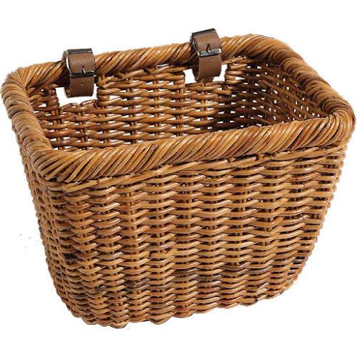 Nantucket Bike Basket Company Cisco Basket Rectangular Lt. Brown