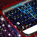Neon Flame Keyboard icon