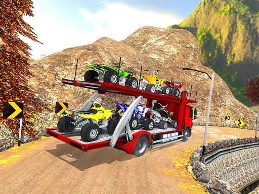Vehicle Transporter Trailer Truck Game 1.4 screenshots 10