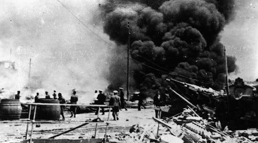 Radiografía de los bombardeos de Almería