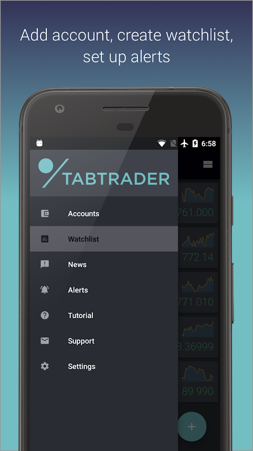 TabTrader Bitcoin Trading Buy- screenshot