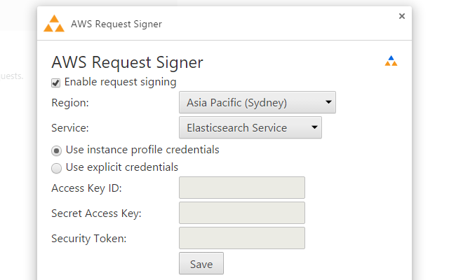 AWS Request Signer