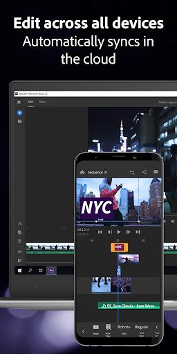 Adobe Premiere Rush u2014 Video Editor 1.5.20.571 screenshots 6