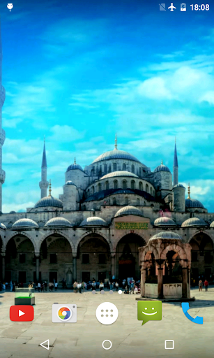 玩個人化App|Blue Mosque Video Wallpaper免費|APP試玩