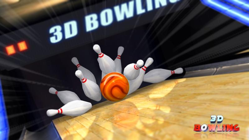 Screenshots of 3D Bowling for iPhone