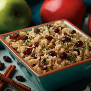 Cinnamon Apple Rice.