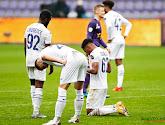 De spelers van Anderlecht maakten elkaar een belofte