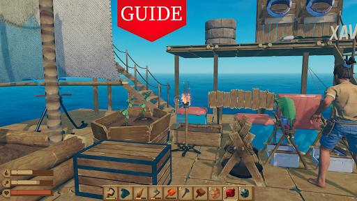 Walkthrough For Raft Survival Game screenshot 3