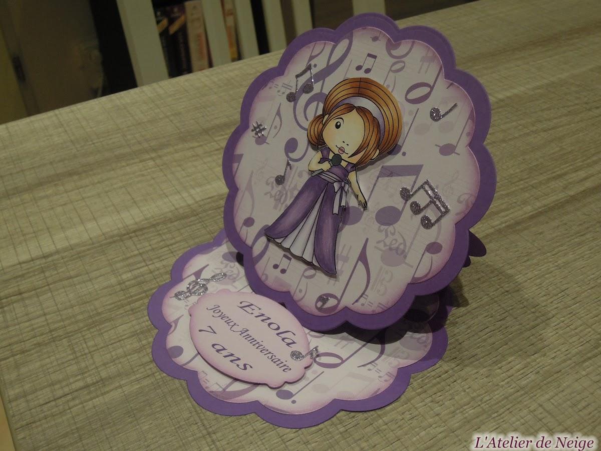 184 - Anniversaire Enola 7 ans