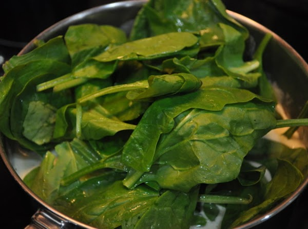 Add spinach and stir.  Cook for five minutes.