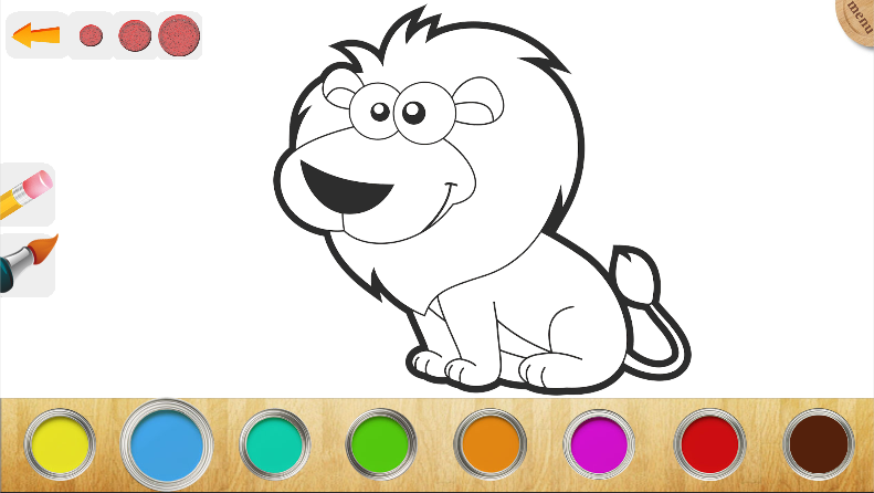 oloring book kids paint screenshot - Kids Paint Book