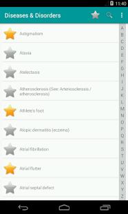 Медицинский словарь заболеваний для android