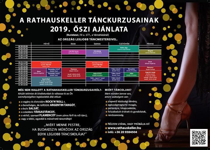 2019. őszi tánckurzusok