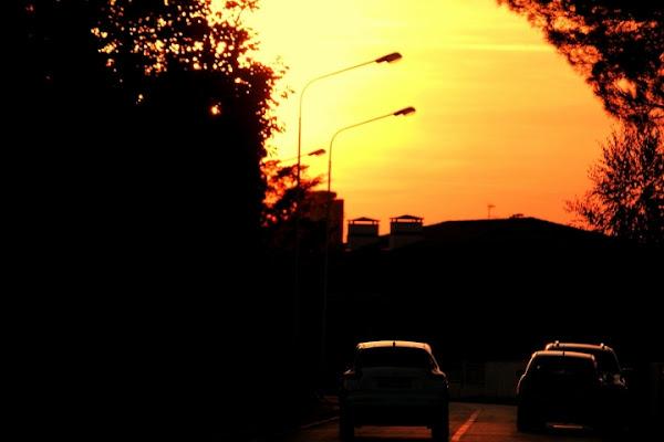 Auto al tramonto di vally64