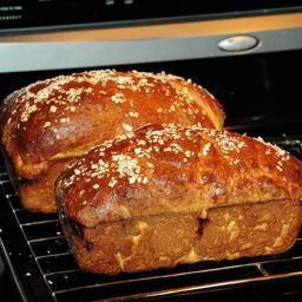 Honey Oatmeal Bread Recipe