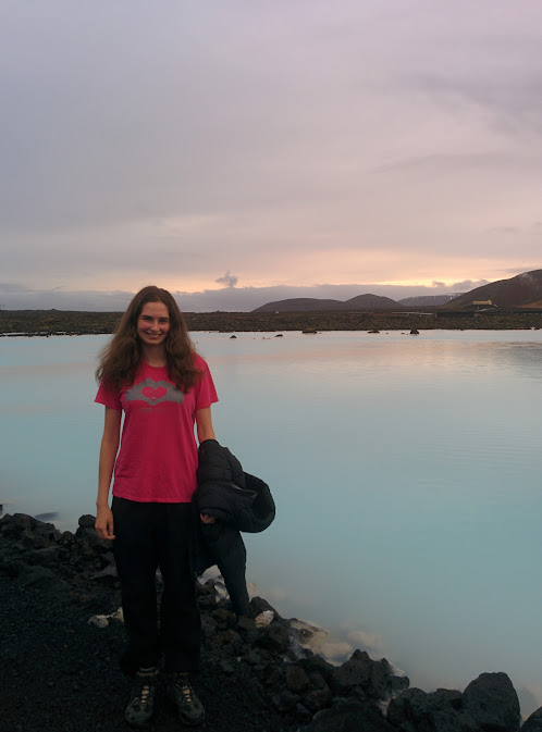 Just outside the Blue Lagoon