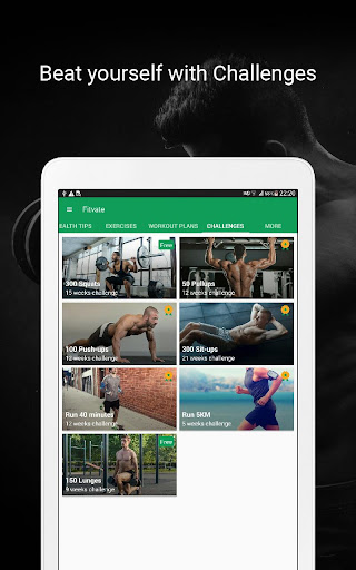 Fitvate - Home & Gym Workout Trainer Fitness Plans 6.8 screenshots 11
