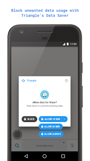 Triangle: More Mobile Data for PC