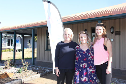 ALL WELCOME: Youth Shack committee member Anna Dugdale, art teacher Chloe Faucett and yoga teacher Kia Packer are excited the Youth Shack will open its doors an extra day a week.