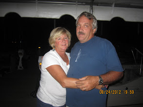 Photo: Cliff and Vickie hosted the happy hour.