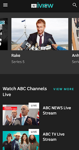 ABC iview 4.4.0 screenshots 1
