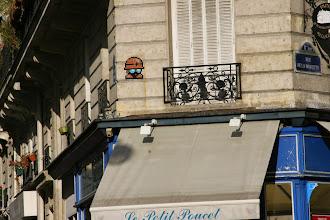 Photo: Street art - Space invaders - Paris XIe -rue de la Roquette