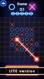 Tic Tac Toe glow - Free Puzzle Game APK screenshot thumbnail 4