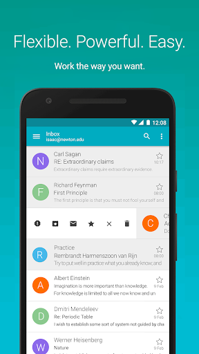 MobiSystems AquaMail - Email App 1.14.2-840 screenshots 1