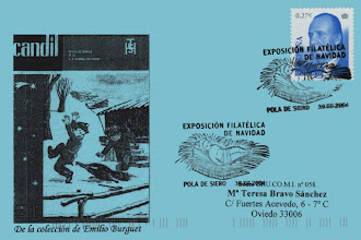 Photo: Matasellos de Navidad en Pola de Siero 2004